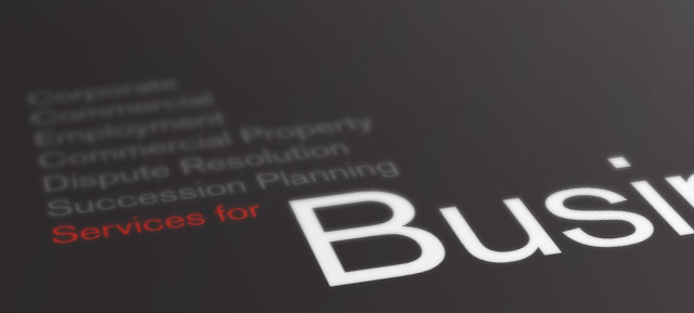 Clear Signal rebrand and visual identity for Phillips Solicitors, Basingstoke - typographic detail